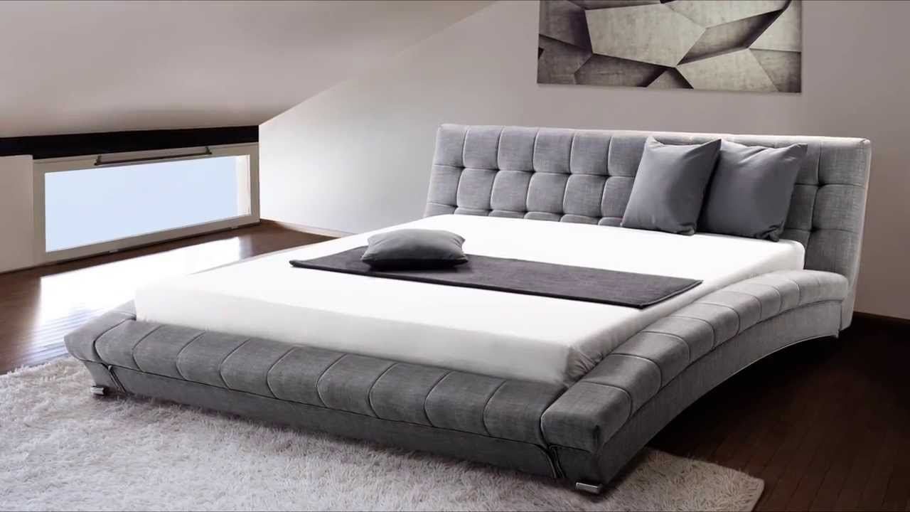 King Platform Bed Dimensions