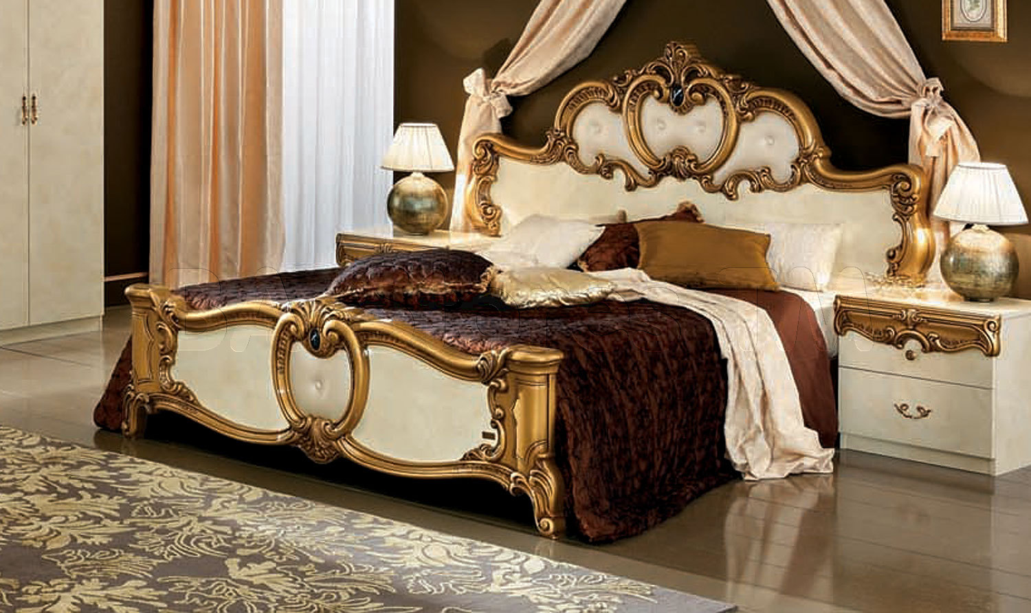 How big is a king size bed mattress for Bed furniture design catalogue