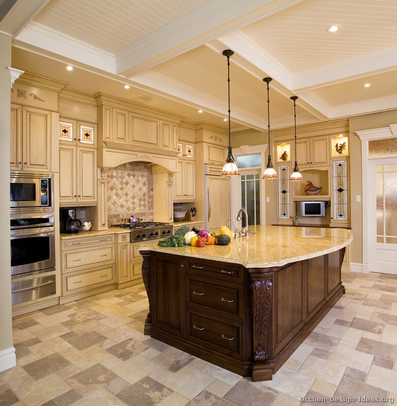 how to design a kitchen layout with island