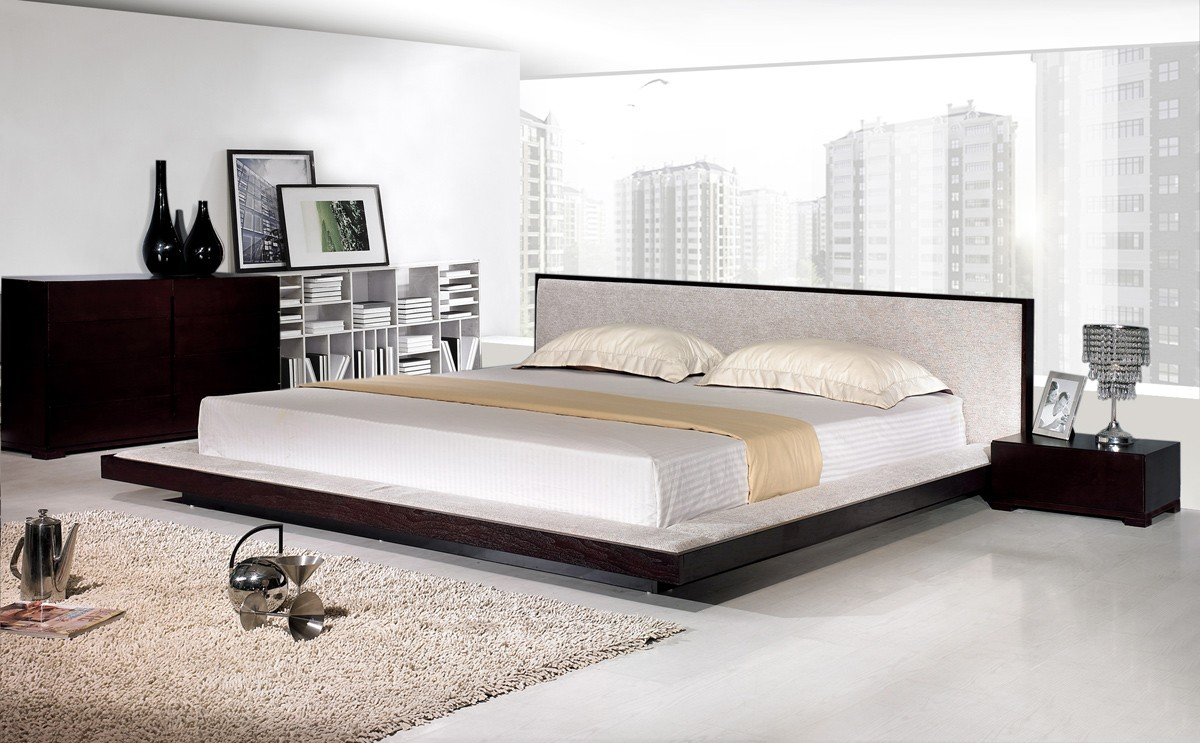 How big is a king size bed mattress for Bed styles images