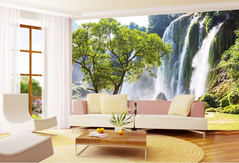 Wallpapers for living room design ideas in uk for Custom mural wallpaper uk