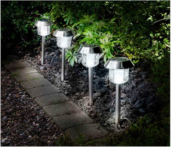 Garden Solar Lights Ideas : Best solar lights for garden ideas uk