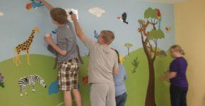 childrens bedroom wallpaper borders