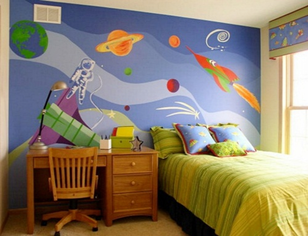 childrens bedroom wallpaper ideas