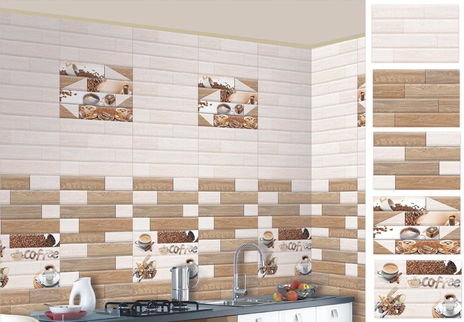 Wall Tiles Design For Home : Kitchen wall tiles ideas with images