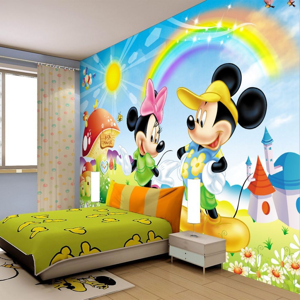 Childrens bedroom wallpaper ideas home decor uk for Childrens bedroom wall designs