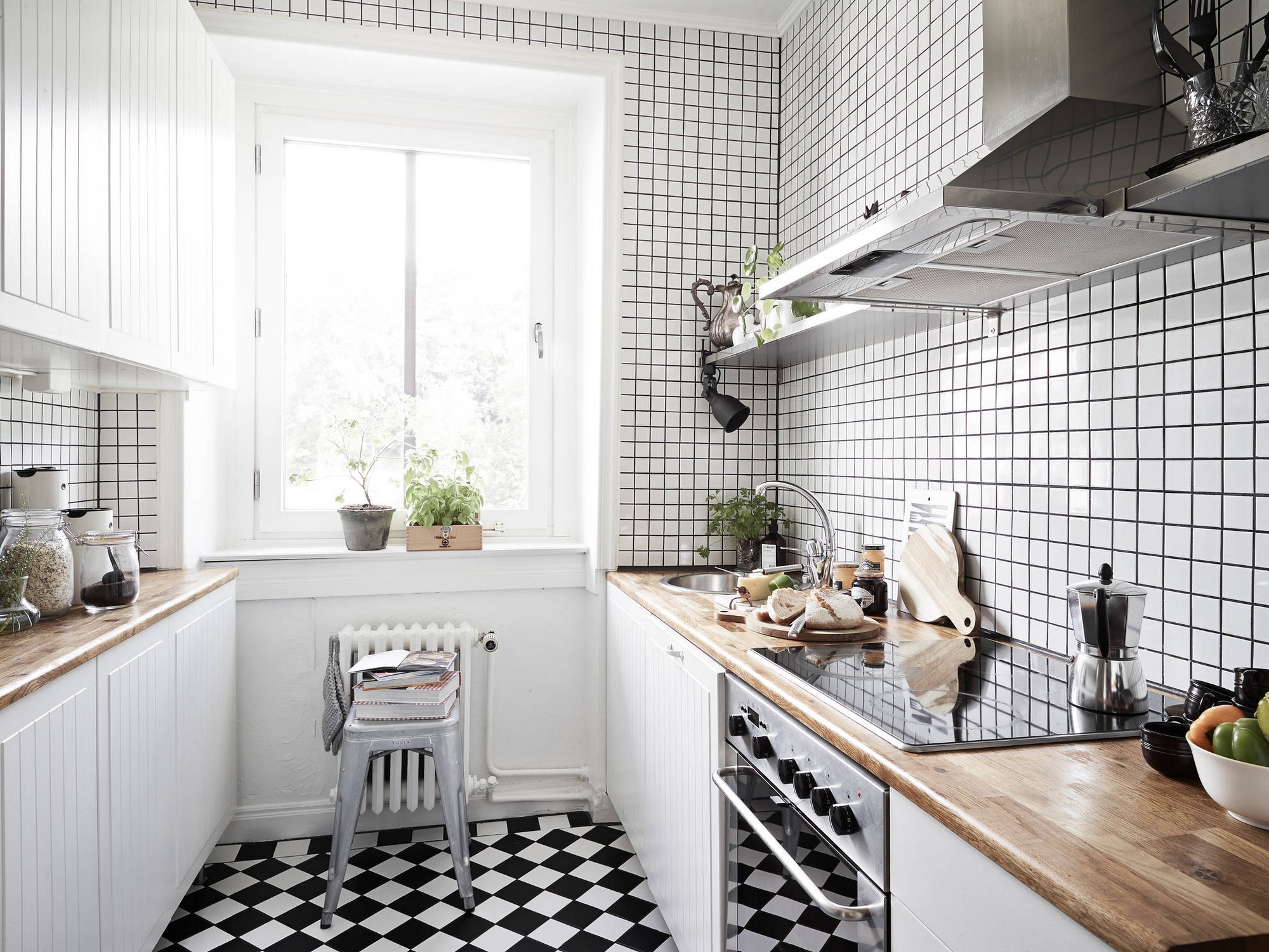 Kitchen wall tiles ideas with images Kitchen ideas with black and white tiles