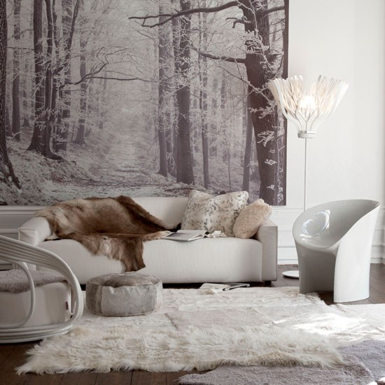 Designer Wallpaper Ideas Photos: Wallpapers For Living Room Design Ideas In UK