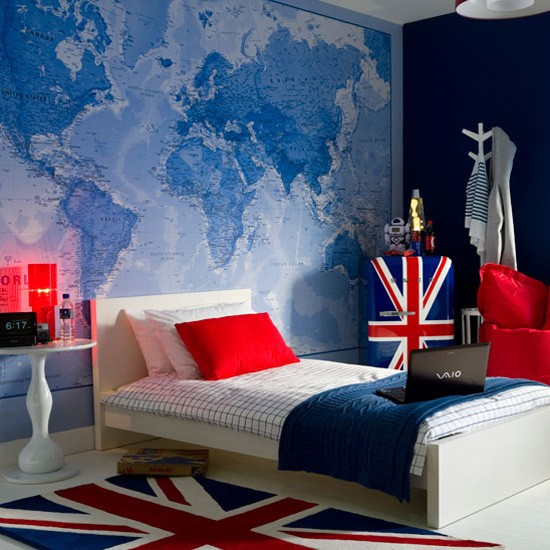 Childrens bedroom wallpaper ideas home decor uk for Best wallpaper design for bedroom
