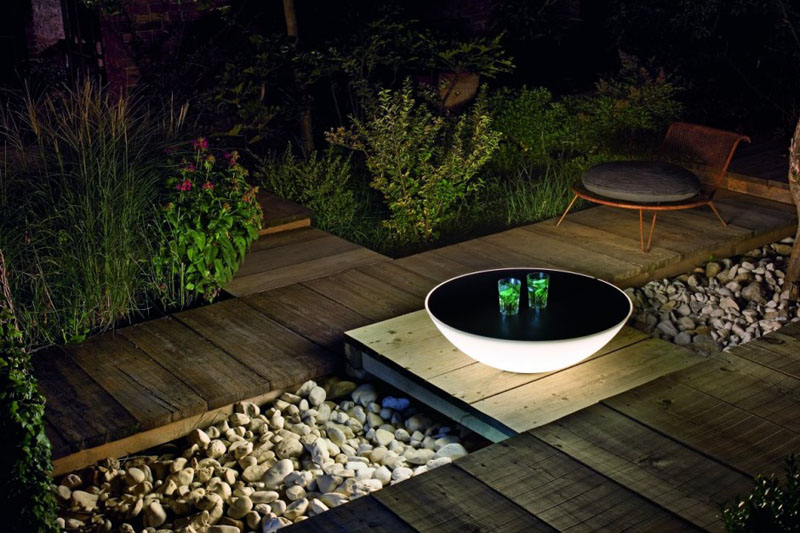 solar lights for garden decoration