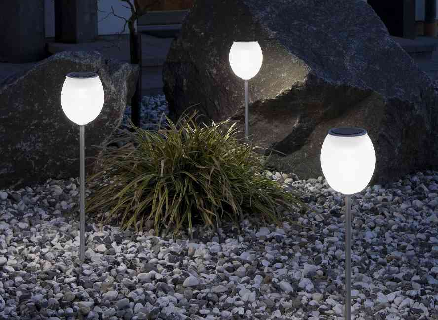 Solar Firefly Jar Decorative Outdoor Light Solar Accents Large