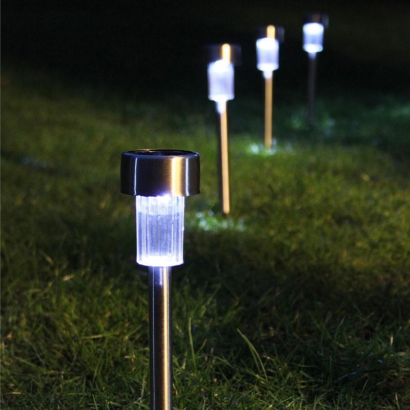 solar power garden lights review