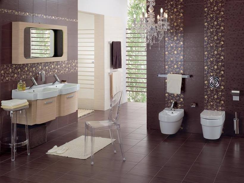 Modern Wallpaper For Bathrooms Ideas Uk