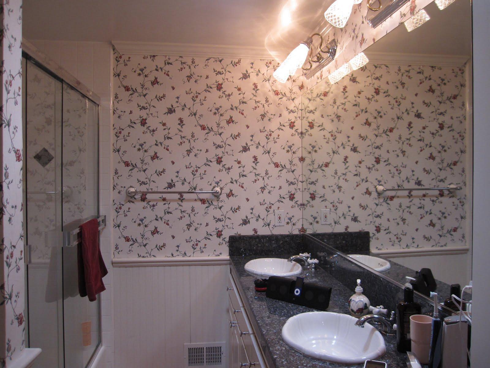 Wallpaper Border Bathrooms