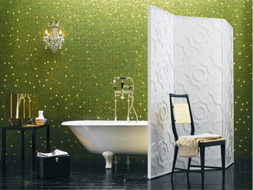 wallpaper for bathroom tiles