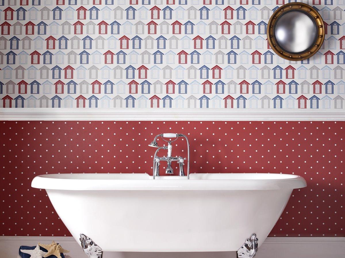 wallpaper for bathrooms homebase