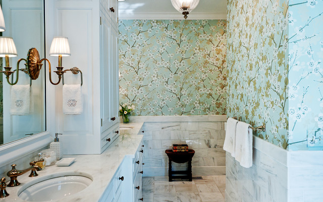 wallpaper for bathrooms laura ashley