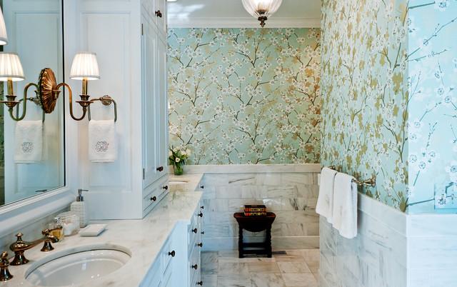 wallpaper for bathrooms laura ashley