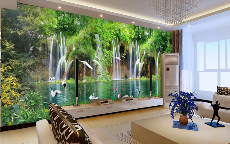 wallpaper living room feature wall wallpapers for living room design ideas in uk 22863