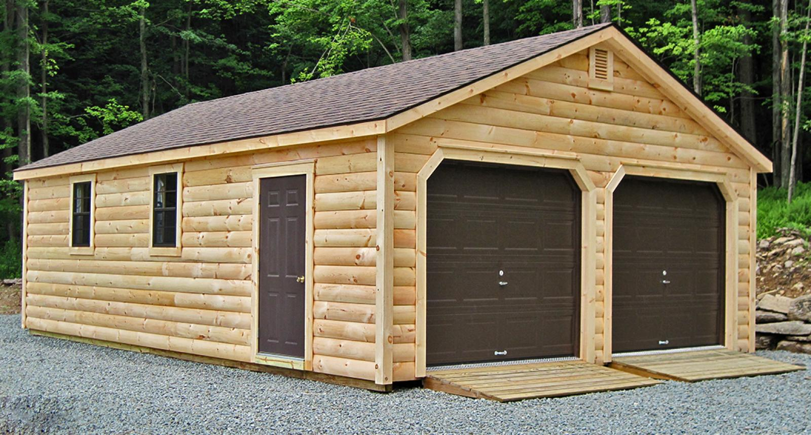 How much to build a garage on side of the house uk for Diy garage packages