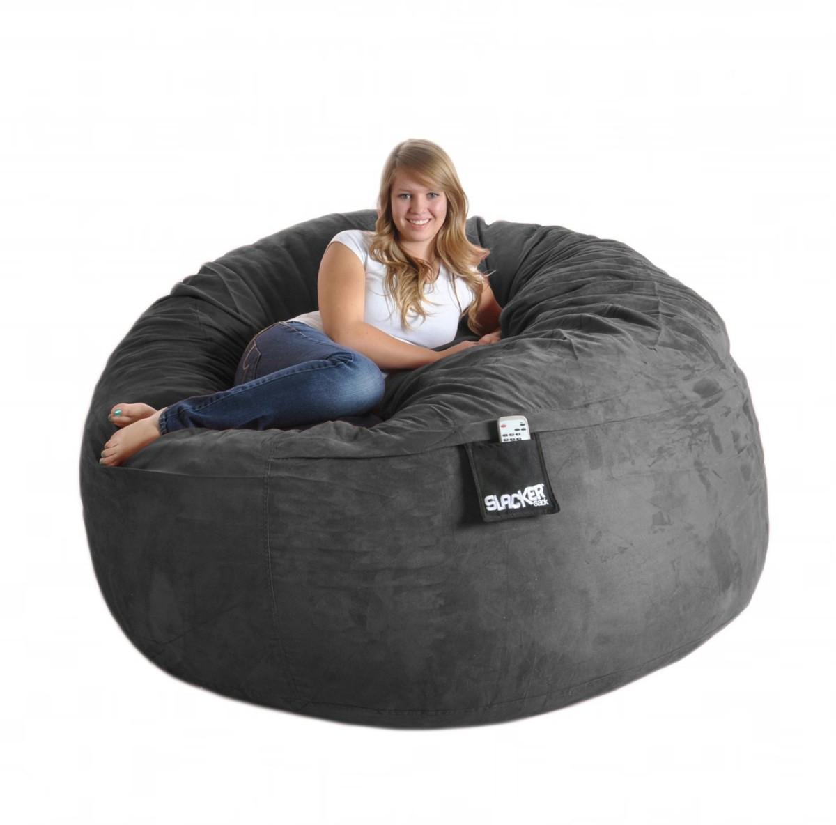 black bean bag chairs