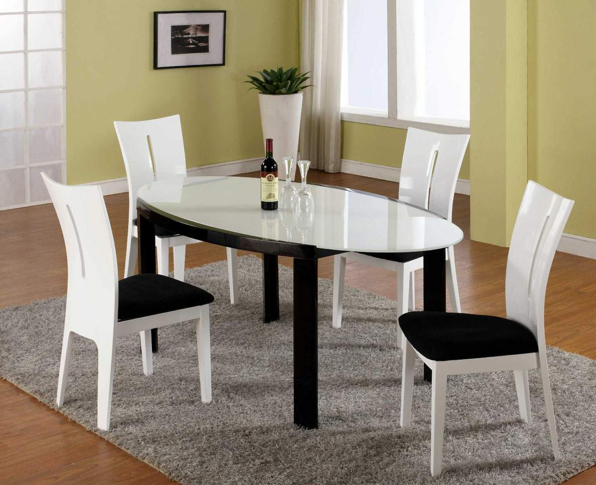 Dining room table and chairs ideas with images for Cheap dining room sets