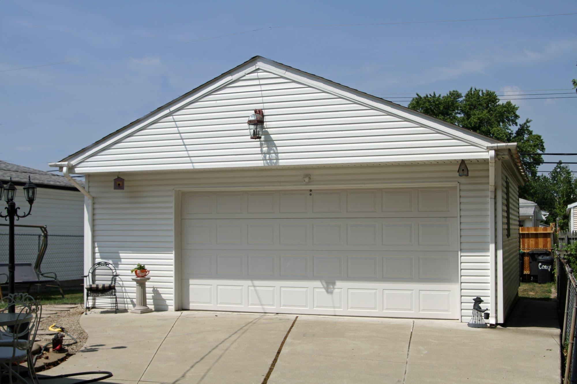 cost per square metre to build a garage