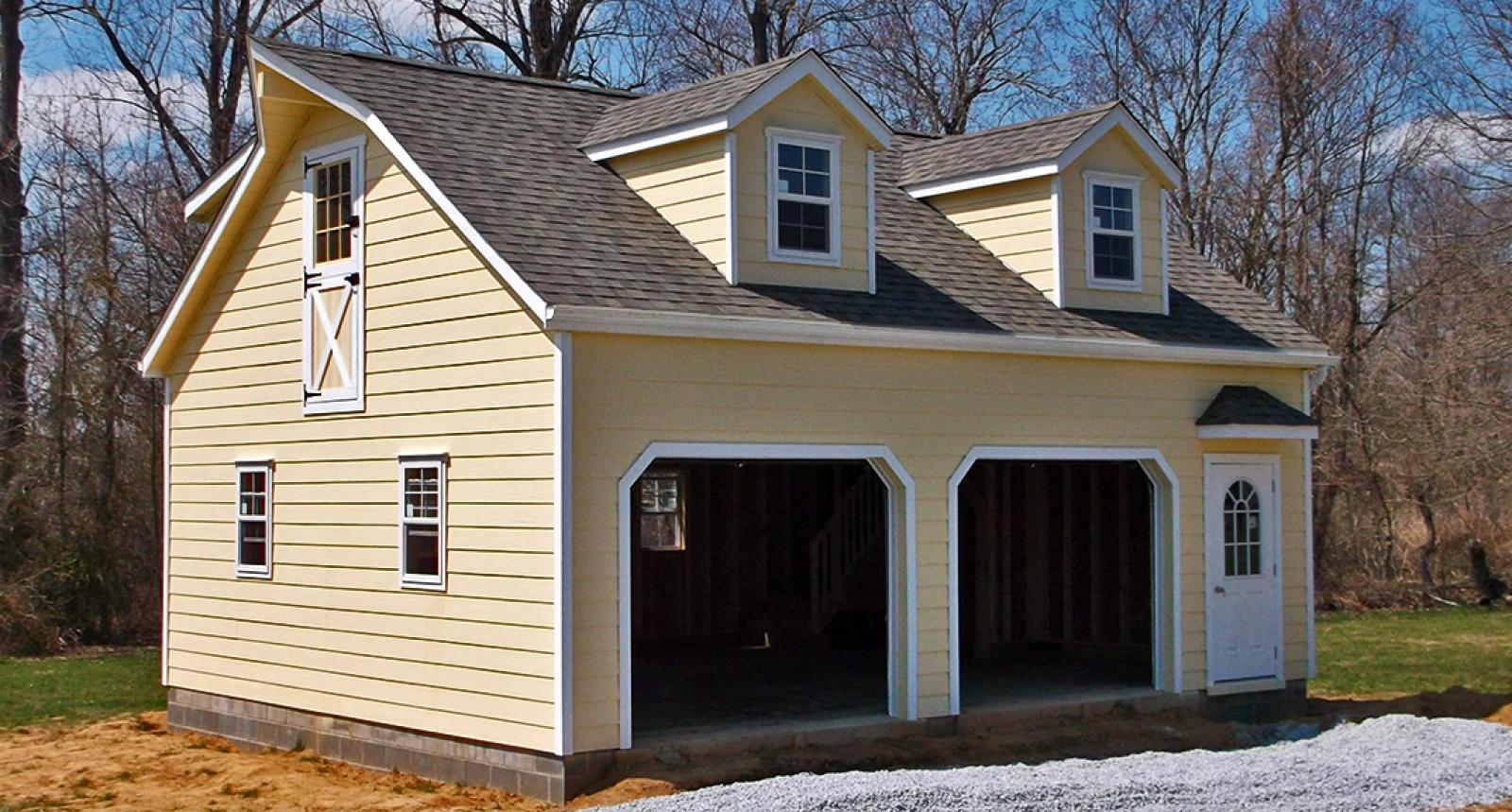 how much to build a garage per square metre