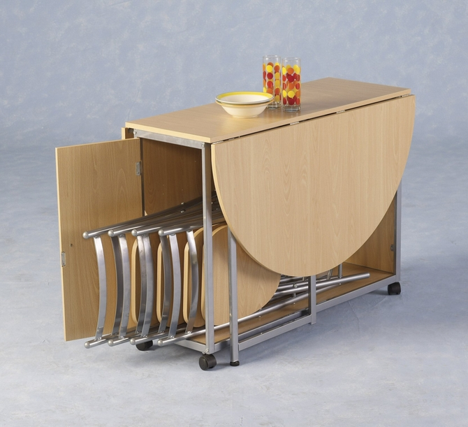 Ikea Fold Away Table And Chairs