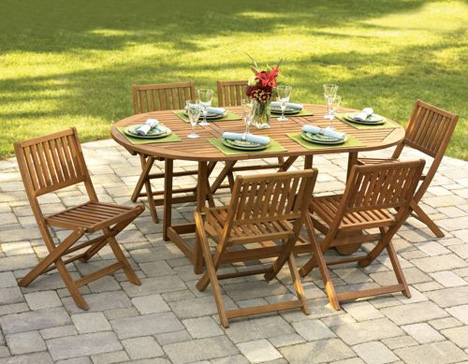 ikea folding table and chairs set