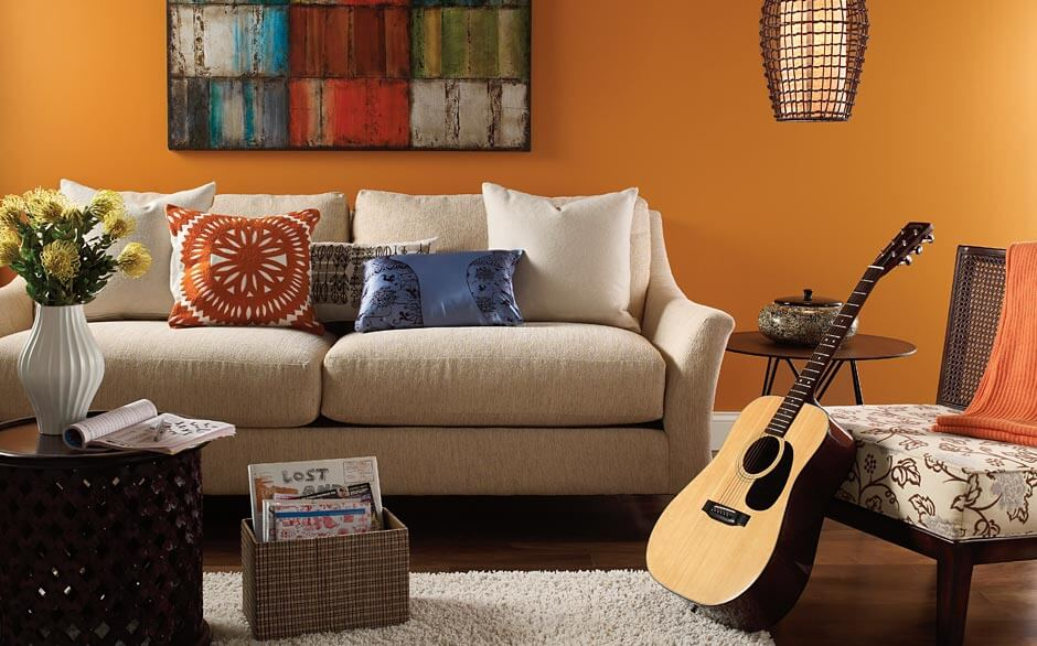 Modern paint colors for living room ideas for Ideas for painting my living room