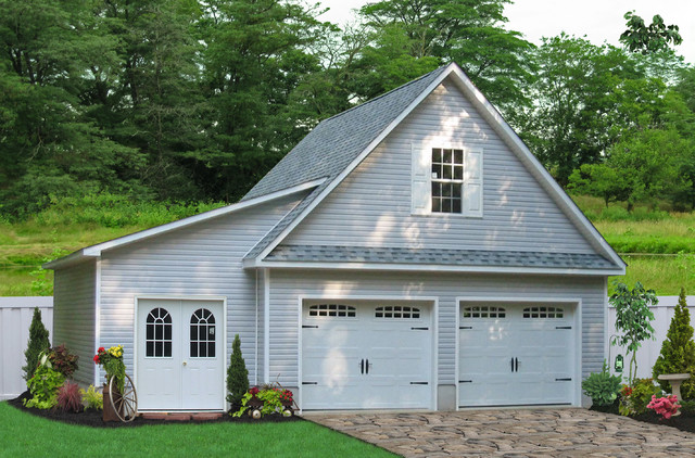 single garage with room above