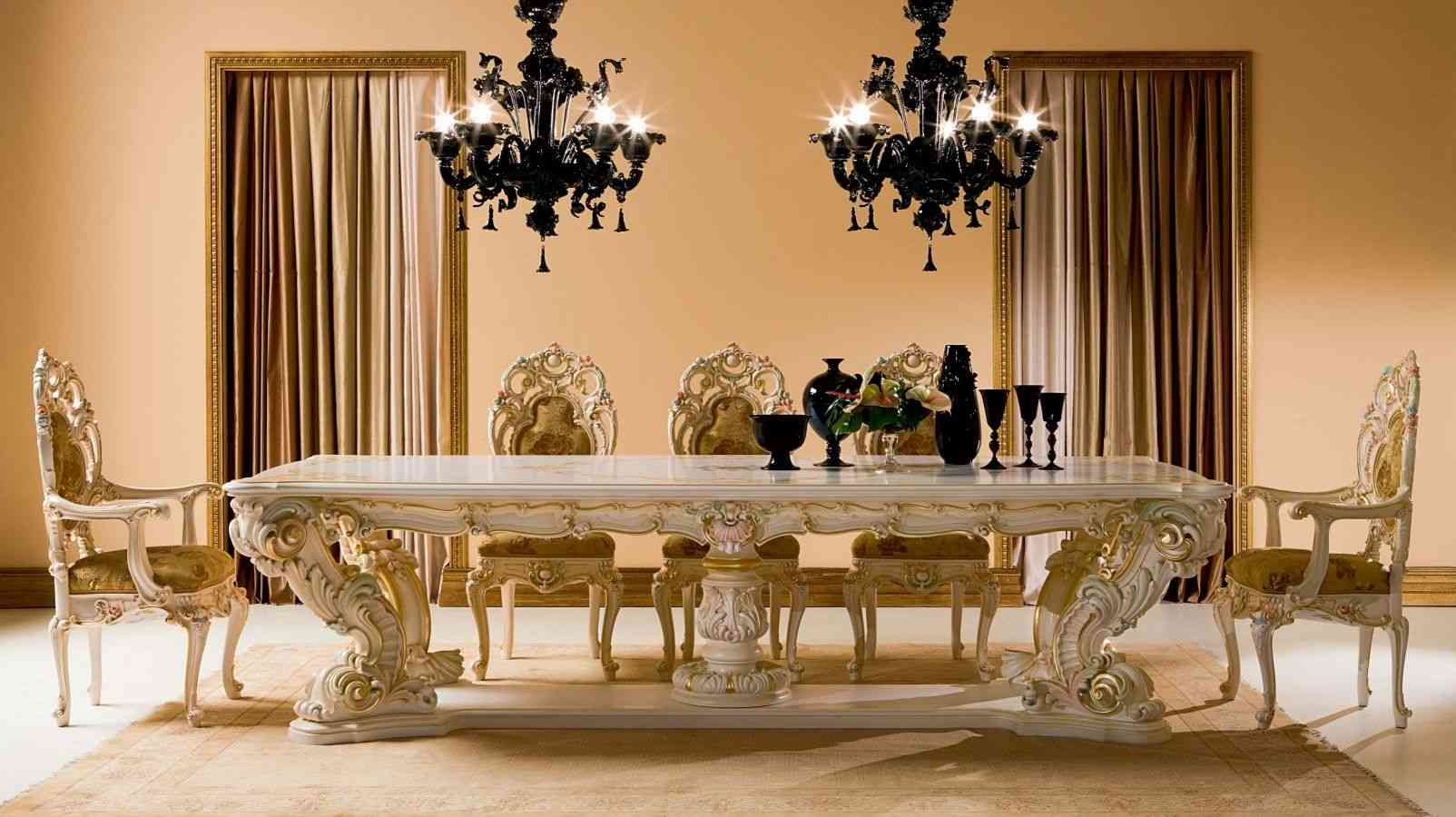Dining room table and chairs ideas with images for Trendy dining room furniture
