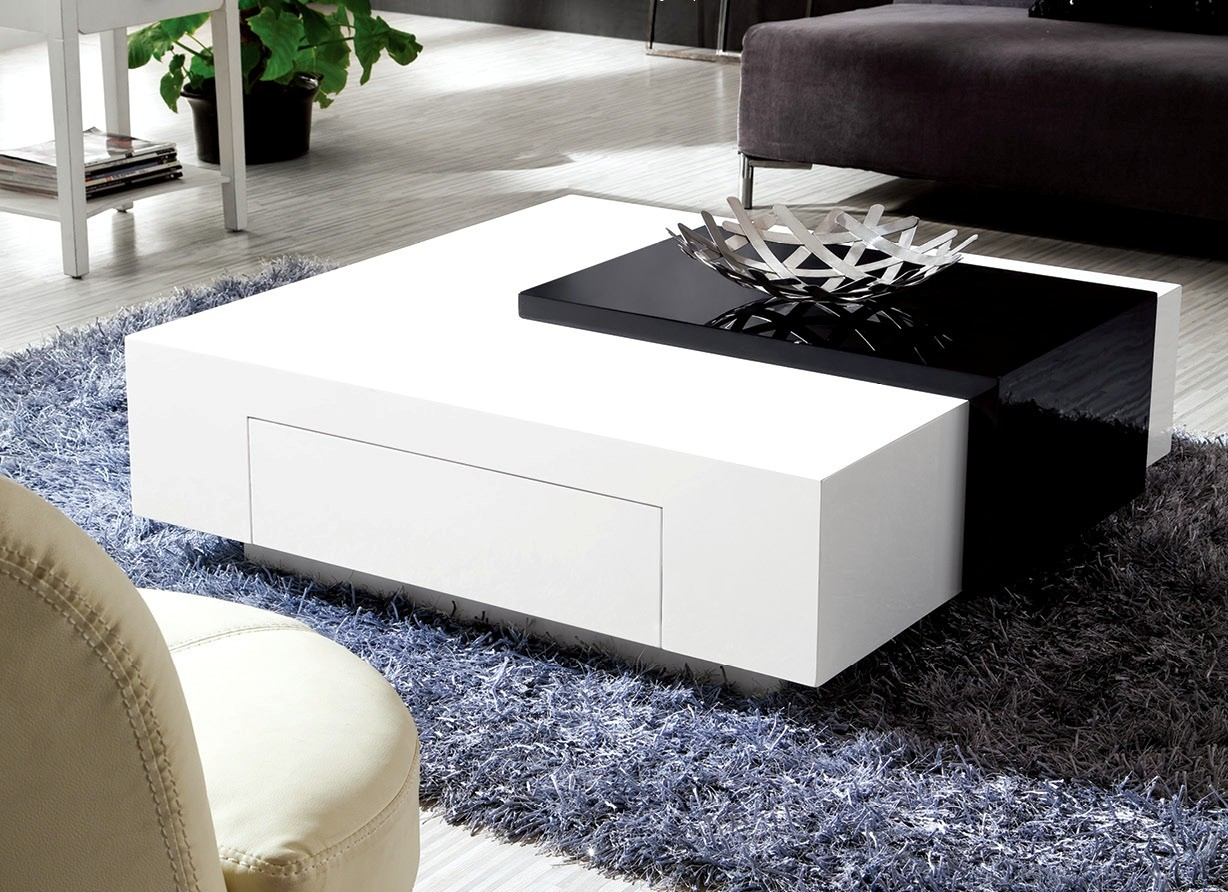 White High Gloss Coffee Table Ikea