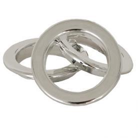 Eyelet Rings Chrome