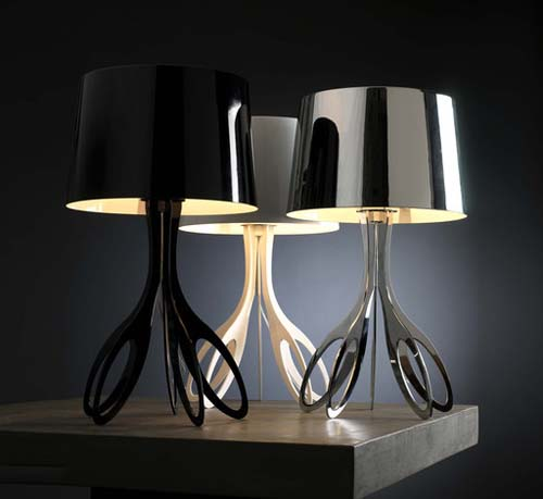 Contemporary Table Lamps Living Room Style Designer