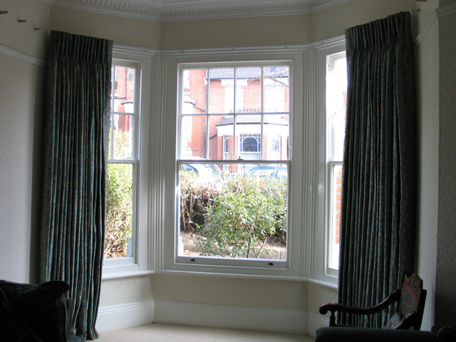 curtain rail for bay windows u shape