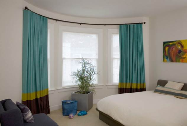 30 Best Curtain Rail for Bay Windows Ideas UK - Home Decor Ideas UK