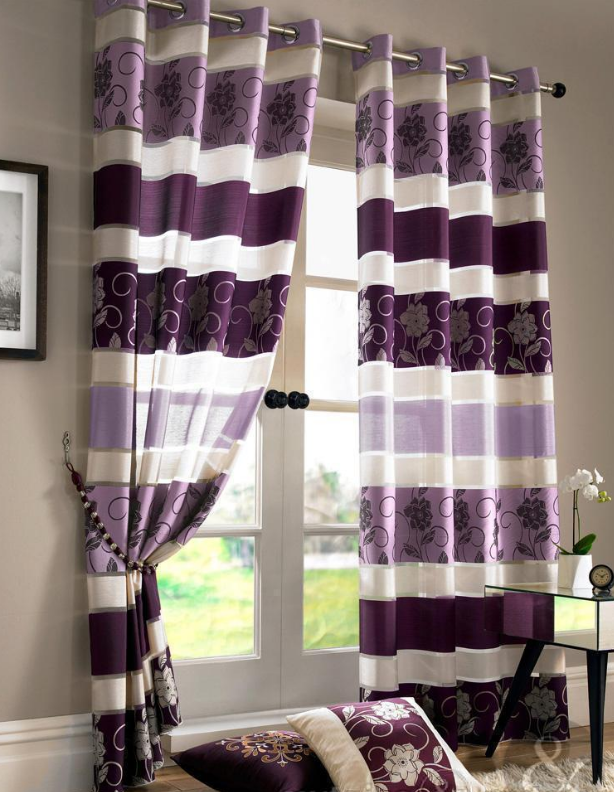 How To Attach Blackout Lining To Eyelet Curtains