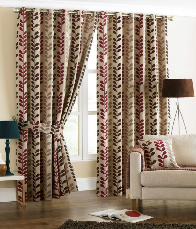 How To Cut Holes For Eyelet Curtains