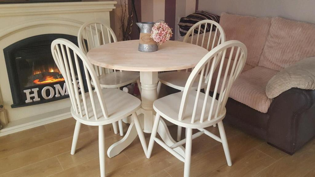 Shabby Chic Dining Table Set Listitdallas