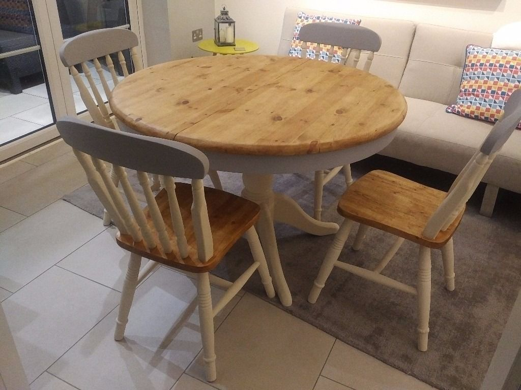 Cheap Pine Round Kitchen Tables And Chairs