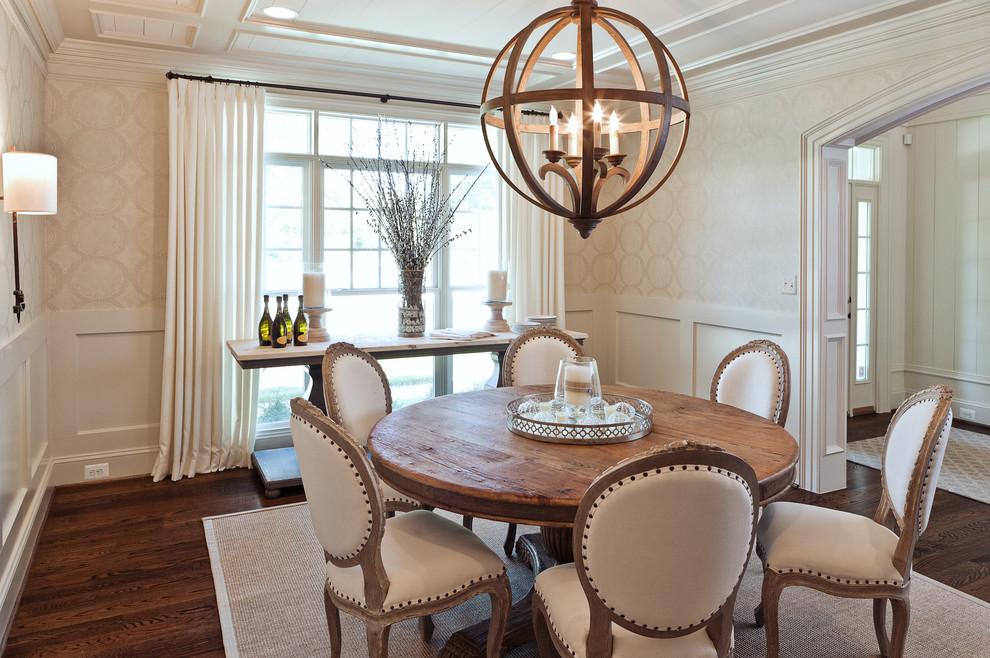 shabby chic round kitchen table