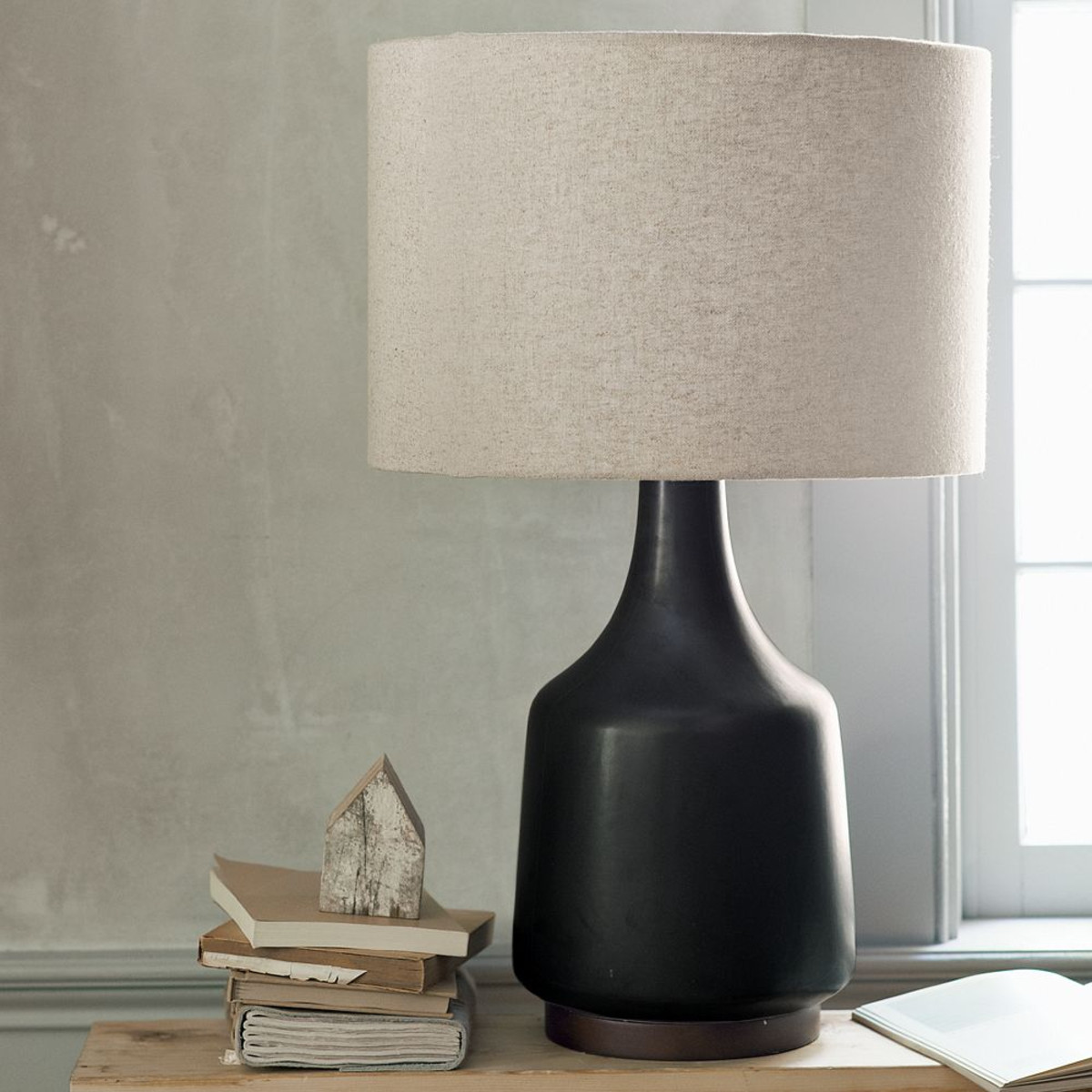 Top 50 modern table lamps for living room ideas home - Black table lamps for living room ...