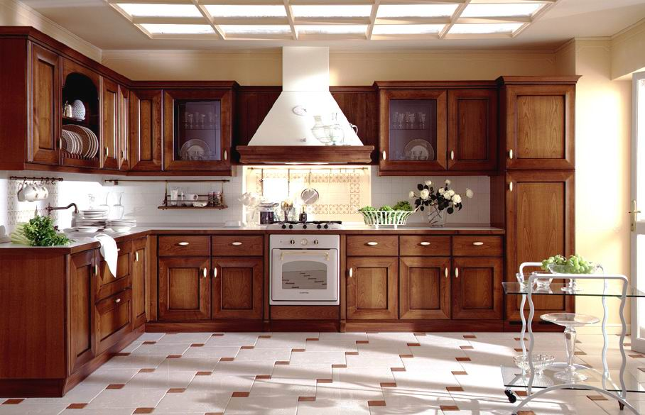 Simple Style Kitchen Cabinets Designs