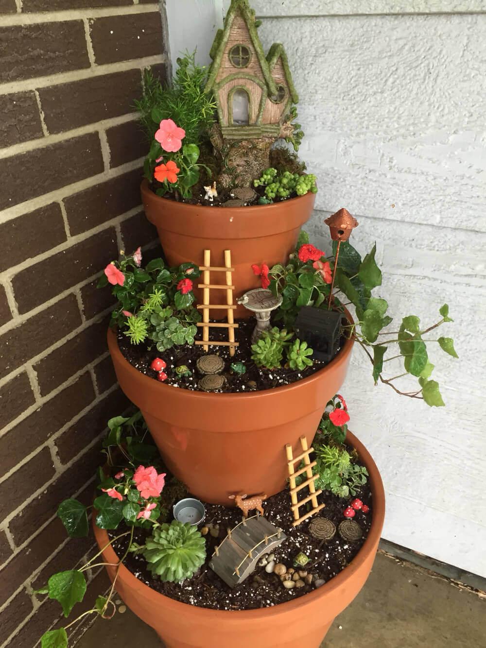 20 Front Door Flower Pots Ideas Homebnc