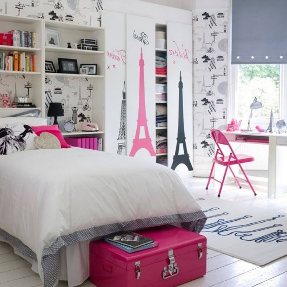 Decorating A Teenage Girl's Bedroom