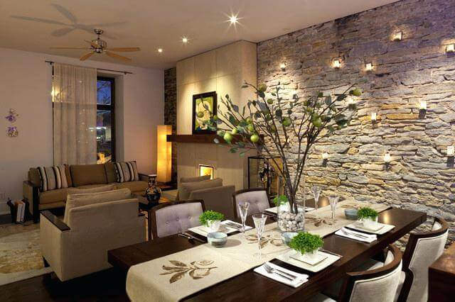 Feng Shui Living Room Dining Design Combo And Decorating Ideas 8 Inspiration