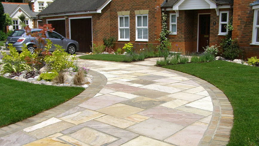 Front Garden Ideas With Driveway