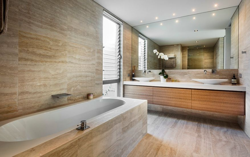 Stone Bathroom Tiles Design